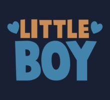 Little BOY with love heart Kids Tee