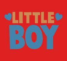 Little BOY with love heart One Piece - Short Sleeve