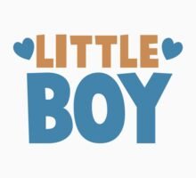 Little BOY with love heart Kids Clothes