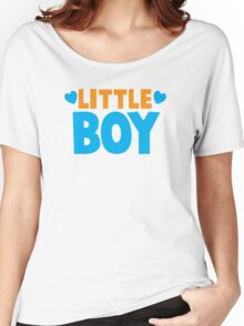 Little BOY with love heart Women's Relaxed Fit T-Shirt