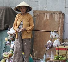 Old Lady -Vietnam by lynnehayes