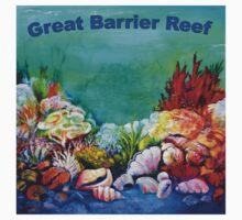 Underwater Great Barrier Reef  Kids Clothes