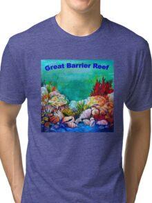 Underwater Great Barrier Reef  Tri-blend T-Shirt