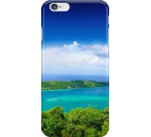 Post Card from Hawaii  iPhone Case/Skin