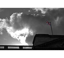 Union Flag at Buckingham Palace, London Photographic Print