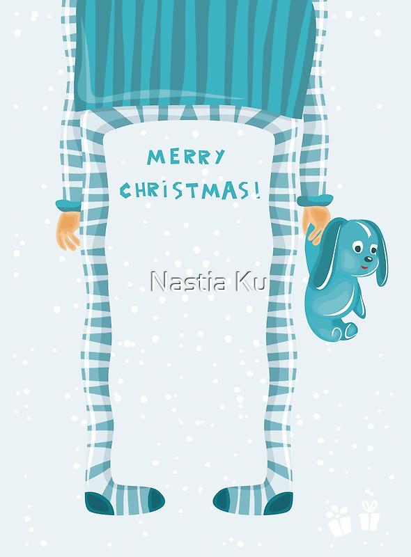 merry xmas 6 by Anastasiia Kucherenko