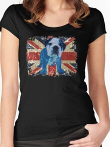 Jack the Bulldog Women's Fitted Scoop T-Shirt
