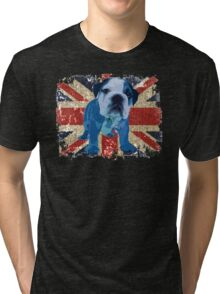 Jack the Bulldog Tri-blend T-Shirt