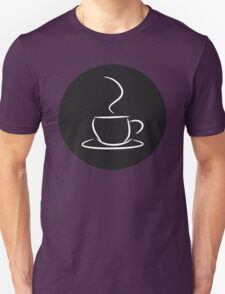 Cafe, Coffee Logo Design T-Shirt