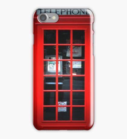Red British Telephone Box copy Samsung Case iPhone Case/Skin