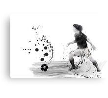 Soccer Player 8 Canvas Print