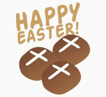 Hot cross buns HAPPY EASTER Kids Clothes
