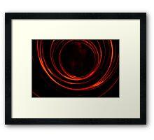 Red Storm Framed Print