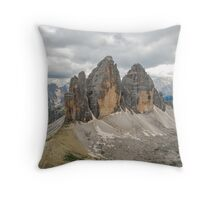 Drei Zinnen Throw Pillow