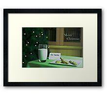Hopeful Christmas Framed Print