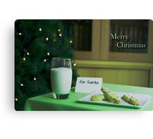 Hopeful Christmas Canvas Print
