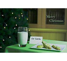 Hopeful Christmas Photographic Print