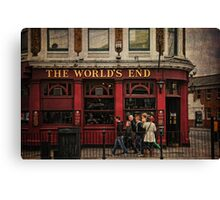 The World's End Canvas Print