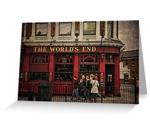 The World's End Greeting Card