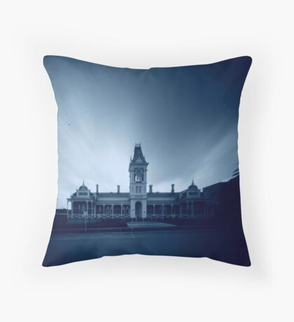 near Ararat hospital Throw Pillow