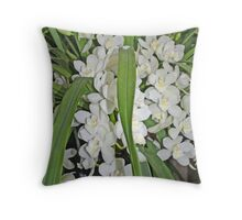 """Pure White"" Throw Pillow"