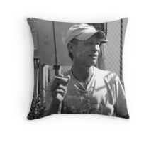 chatting  ( trailer Park america series )  Throw Pillow