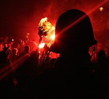Crowd Custodian (Lewes Bonfire 2010) by JJFA