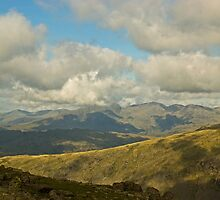 The High Fells Of Cumbria by Jamie  Green