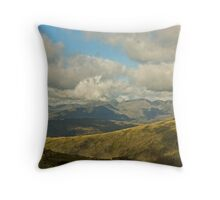 The High Fells Of Cumbria Throw Pillow