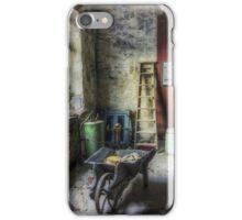 Olde Victorian Slate Workshop iPhone Case/Skin