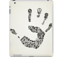 Hand office iPad Case/Skin