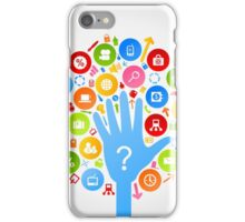 Hand office2 iPhone Case/Skin