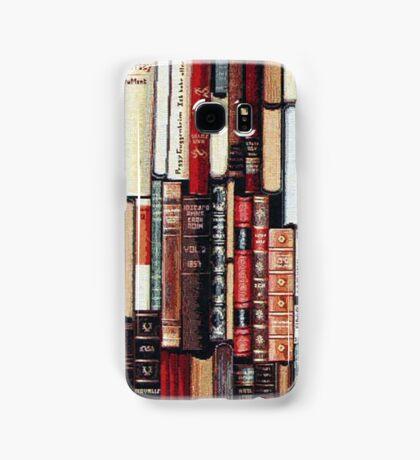 Vintage Bookshelf Samsung Galaxy Case/Skin