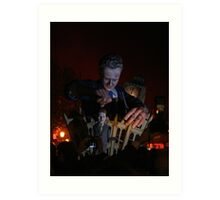 Cameron 'Puppet Master' (Lewes Bonfire 2010) Art Print
