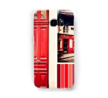 Vintage Paris Montmartre Cafe Samsung Galaxy Case/Skin