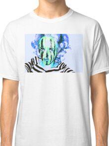Faces Of Beautiful Horror- Image 6/Blue Hair Classic T-Shirt