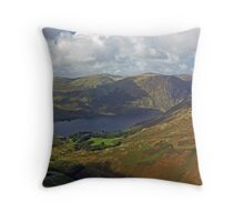The Crummock Water Fells Throw Pillow