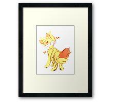 Pokemon | Fire Type | Fennekin Framed Print