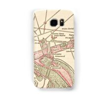 Washington DC Vintage Map Samsung Galaxy Case/Skin