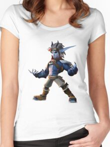 Dark Jak Women's Fitted Scoop T-Shirt
