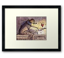 It's a writer's life Framed Print