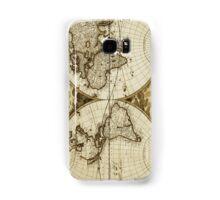 World Map Vintage Samsung Galaxy Case/Skin