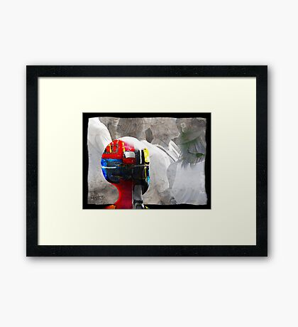IL DIVERSO Framed Print