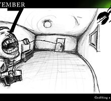 November 17th - Grabbing a tooth by 365 Notepads -  School of Faces