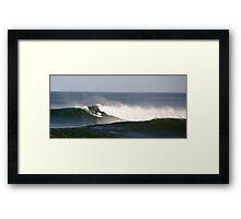 Australian Surfer Framed Print
