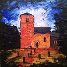 'Saxon Church, Kirk Hammerton' by Martin Williamson (©cobbybrook)