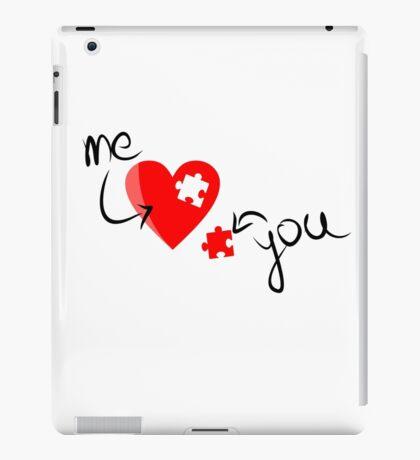 LOVE PUZZLE iPad Case/Skin