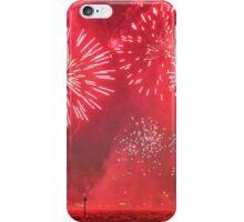 Red Australia Day Fireworks iPhone Case/Skin