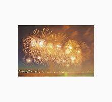 Gold Australia Day Fireworks Unisex T-Shirt