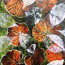 "November's Garden 6 - Monoprint by Belinda ""BillyLee"" NYE (Printmaker)"